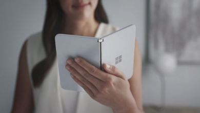 Photo of Microsoft's Surface Duo, a dual-screen Android phone will cost $1,399 and arrive on September 10th
