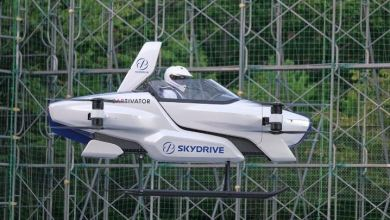 Japanese company successfully tests a manned flying car for the first time 27