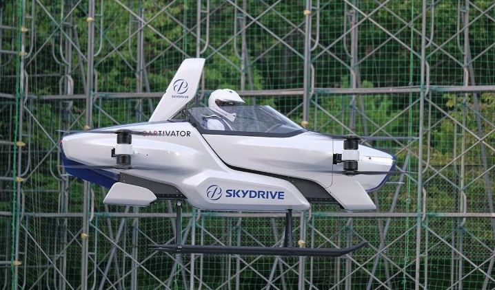 Japanese company successfully tests a manned flying car for the first time 1