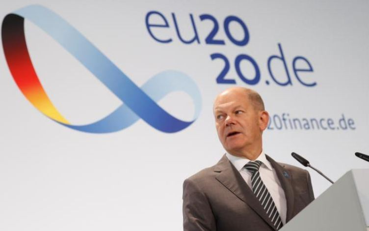 European economy is recovering better than we had feared: Scholz 1