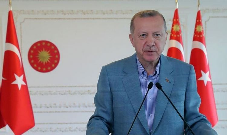 Turkey overcoming pandemic's economic effects: Erdogan 1