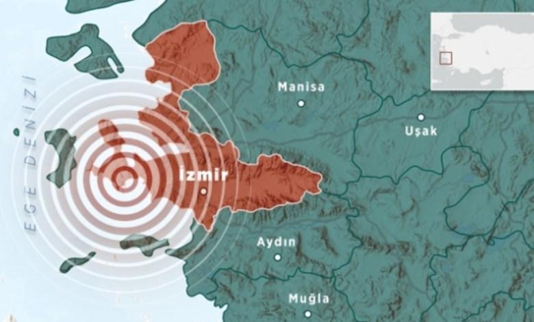 6.6 magnitude earthquake in Seferihisar, Izmir 1
