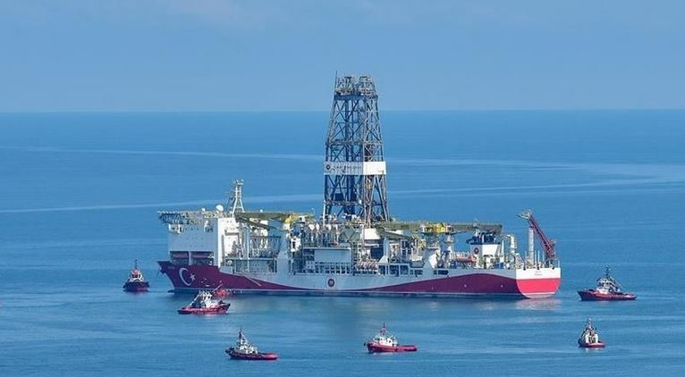 Fatih drillship starts drilling in Turkali-1 well 1