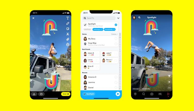 Snap is launching a competitor to TikTok and Instagram Reels 1