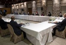 Senior Turkish officials meet minority representatives 10