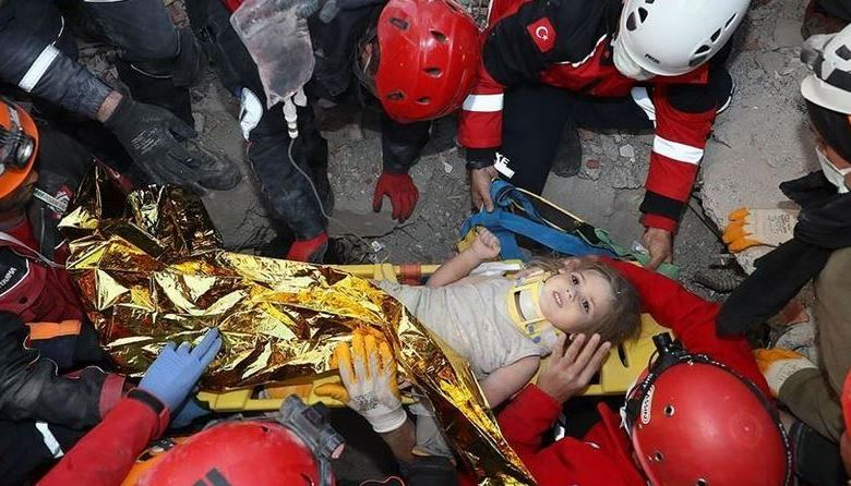 Turkey: Young girl rescued 91 hours after quake 1