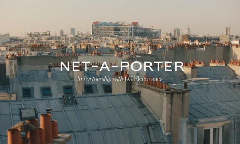 LG Electronics cooperates with NET-A-PORTER for the sustainable clothing collection 1