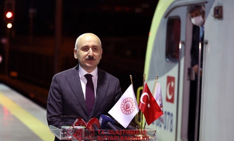 The first export train from Turkey to China will depart tomorrow 1