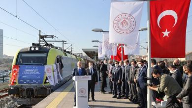 Turkey aims to raise number of freight trains to China 6