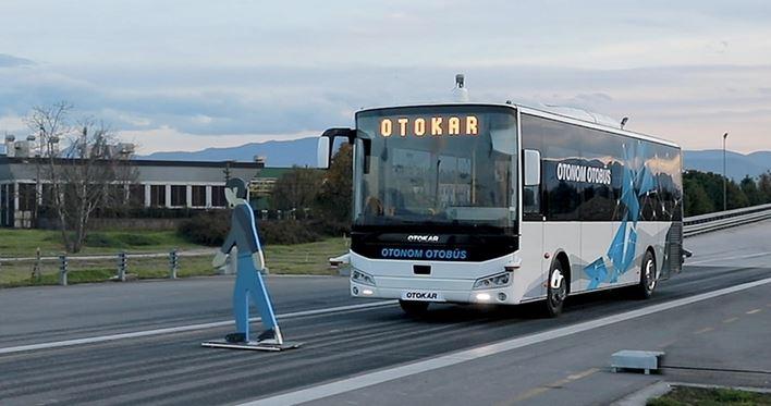 Turkish Otokar tests autonomous bus 1
