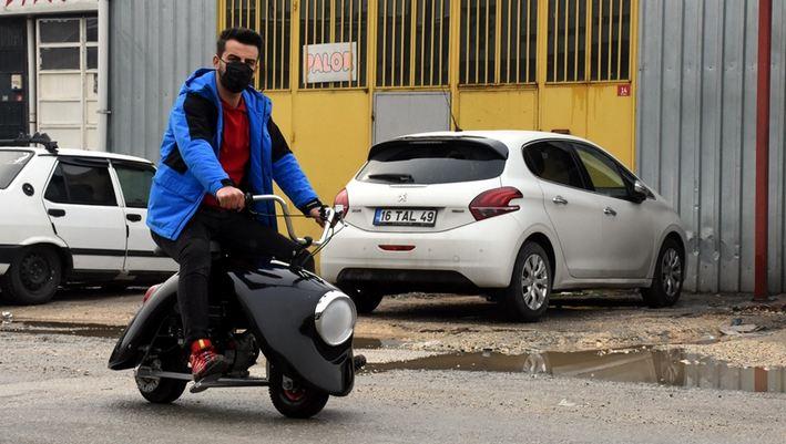Turkish entrepreneurs make lightweight motorbike 1
