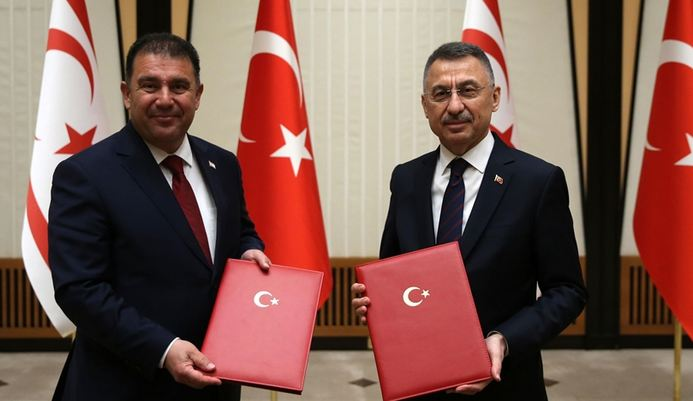 Turkey, Turkish Cyprus sign financial cooperation pact 1