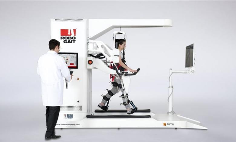 Turkish start-up company's Robogait to export robotic system to the US 1