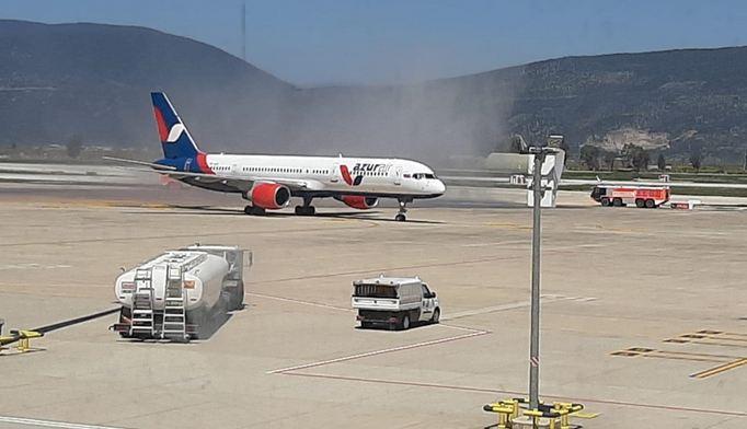 1st international flight of 2021 lands in Turkish tourist hub 1