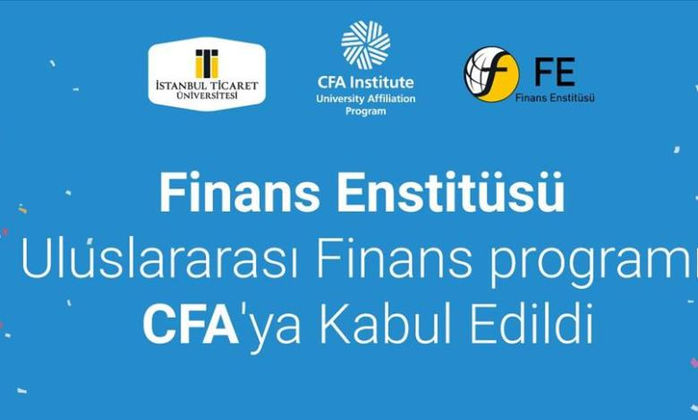 Istanbul Ticaret University Finance Institute accepted to CFA 1