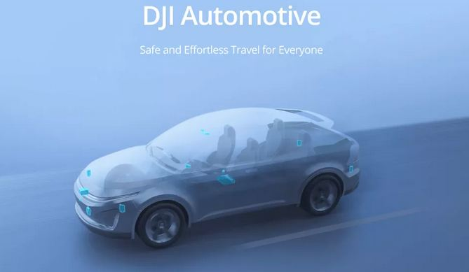 It's official: DJI is moving into self-driving cars 1