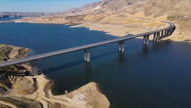 Hasankeyf-2, one of Turkey's longest bridges' work completed 23
