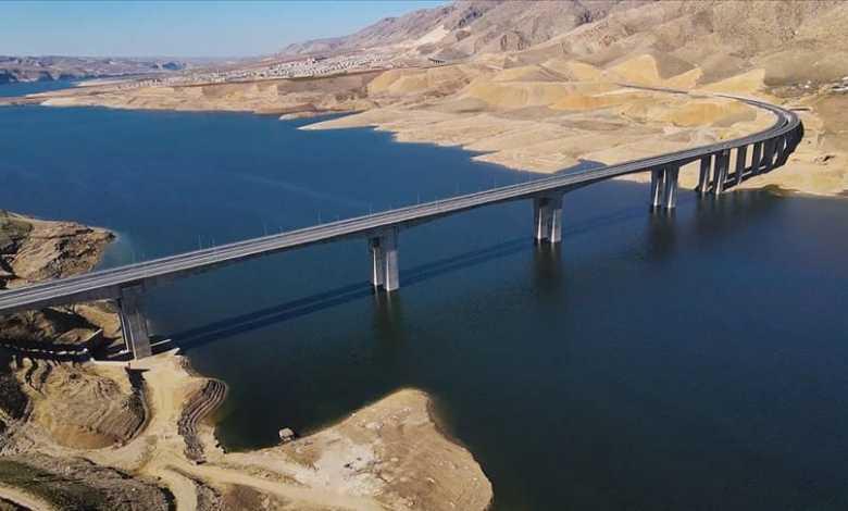 Hasankeyf-2, one of Turkey's longest bridges' work completed 1