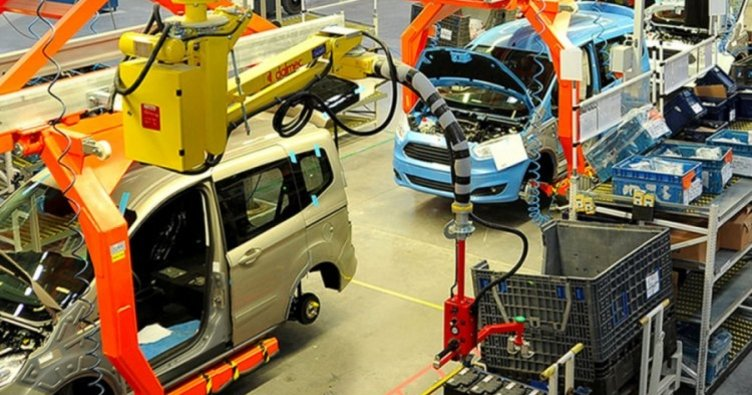 """In the """"automotive base"""" Bursa more than 1300 vehicles per day produced 1"""