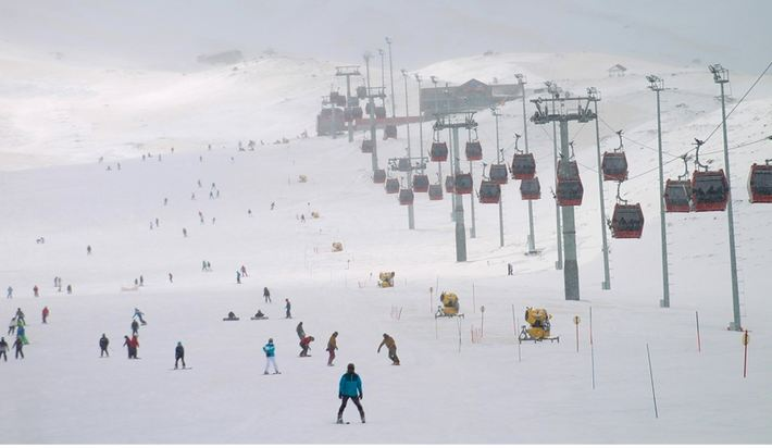 Turkish ski resort's investments rise with tourism boom 1
