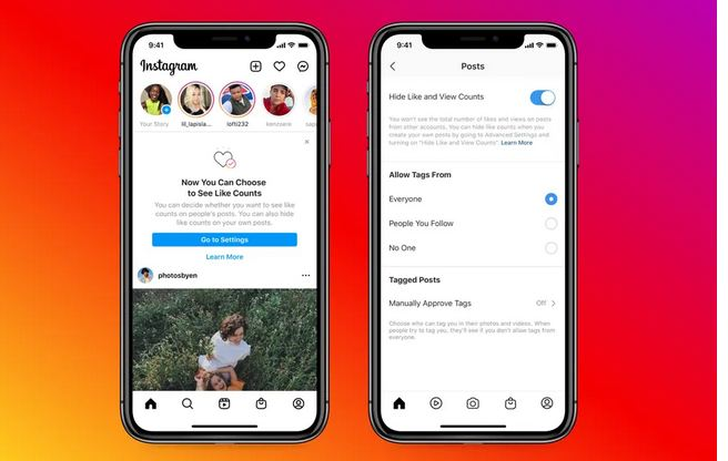 You can now hide like counts on Instagram and Facebook 1