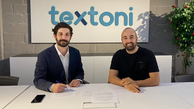 Textoni received an investment with a valuation of ₺4 million 1