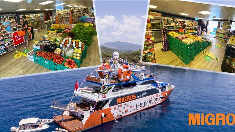 Migros continues its Sea Market service 1