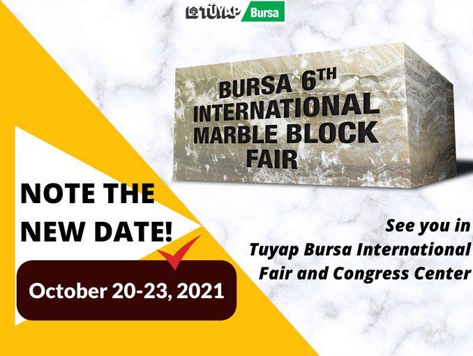 Bursa International Marble Block Fair 2