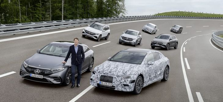 Mercedes-Benz announces plan to go all-electric by 2030 1