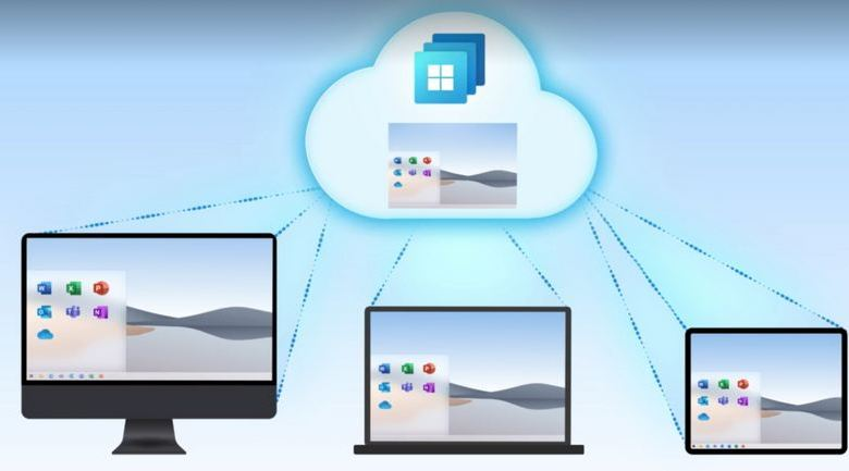 Introducing a new era of hybrid personal computing: the Windows 365 Cloud PC 1