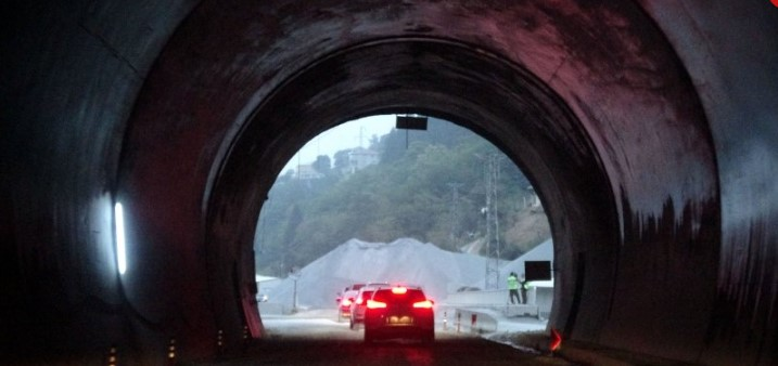 Zigana Tunnel will be the longest tunnel in Europe 1