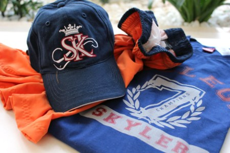 Skyler - Camiseta, bermuda e boné