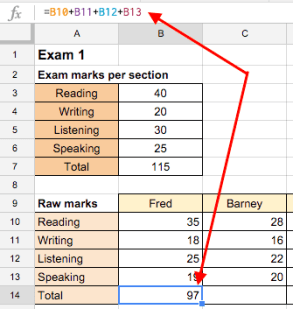 Google Sheets (7) – The cell reference brothers: Relative