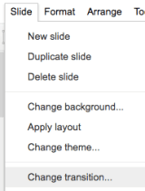 google slides 16 animations transitions learning g suite