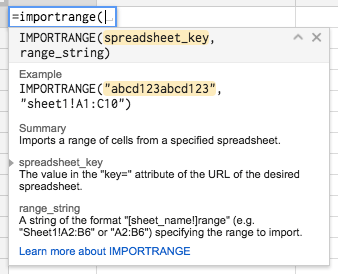 Google Sheets Functions – IMPORTRANGE | Learning G Suite & Apps Script