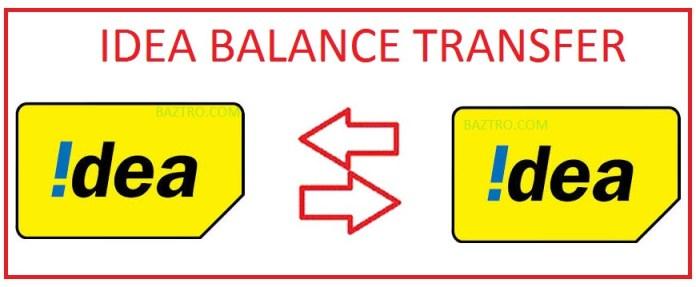 IDEA BALANCE TRANSFER