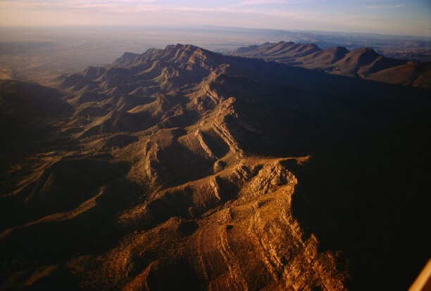 The mountains are rich in Ediacaran Period fossils dating back to over 500 million years ago. Photo O. Louis Mazzatenta