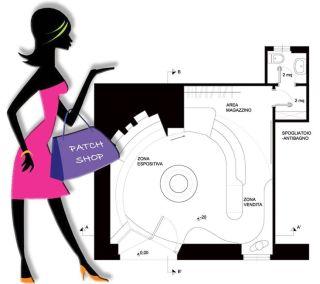 Progetto BB1 negozio abbigliamento - Studio di architettura con sede a Roma