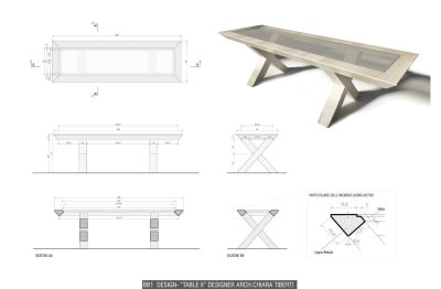 BB1 design - Table X by Chiara Tiberti