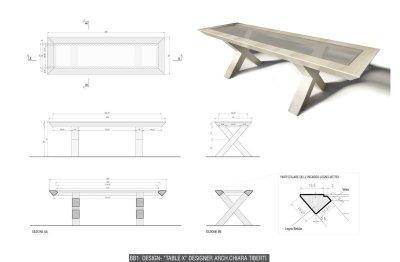 BB1 design - Table X by Chiara Tiberti