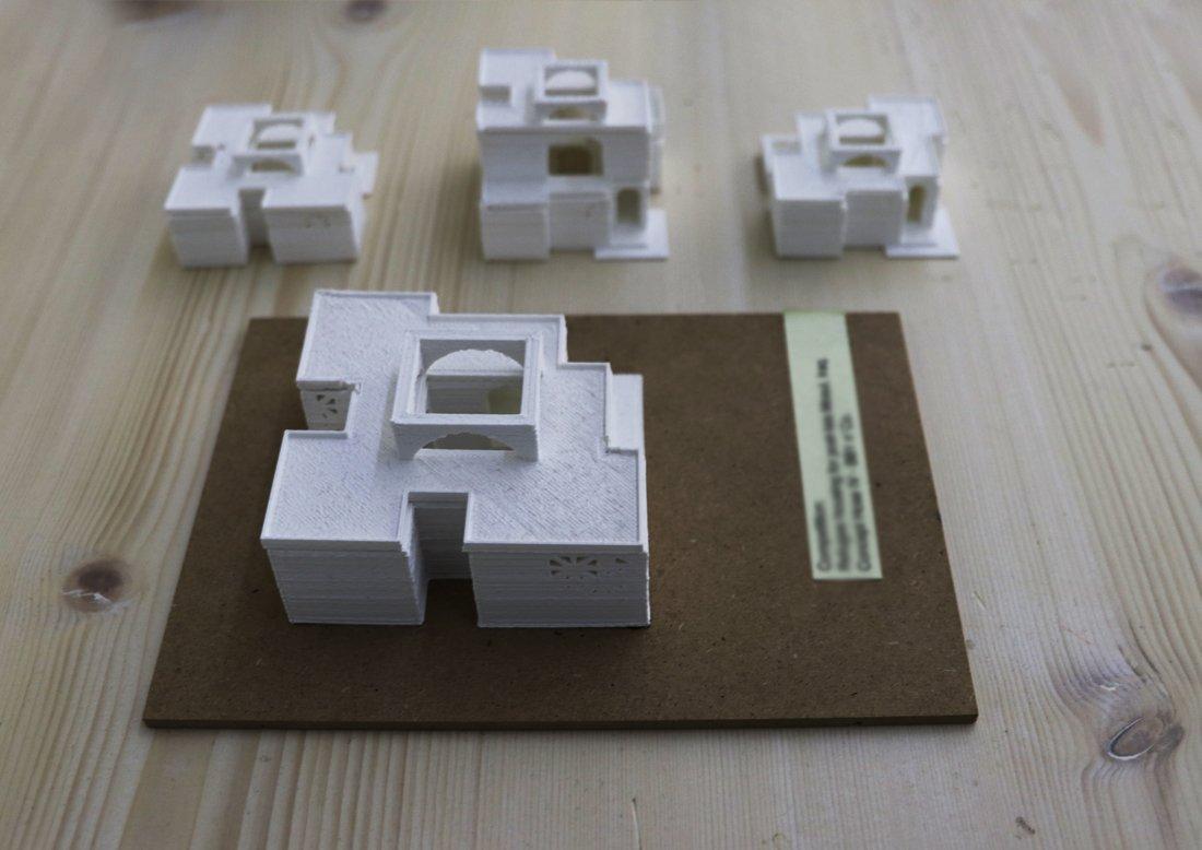 Modelli e plastici tridimensionali bb1 for Modelli case 3d
