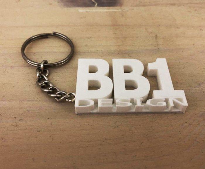 Portachiavi BB1 - Keychain - Keyring