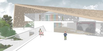 Pinocchio Children's Library - Vista esterna 2
