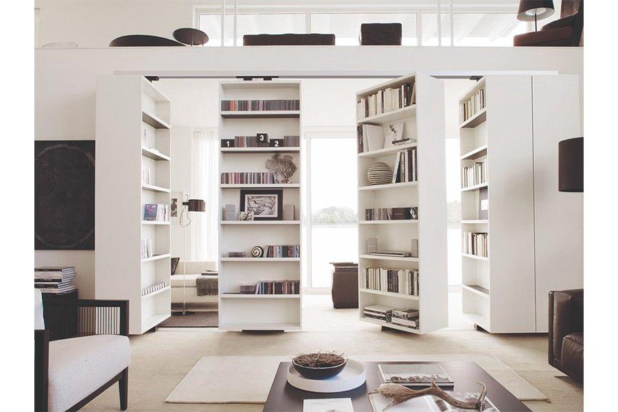 arredamento flessibile - libreria