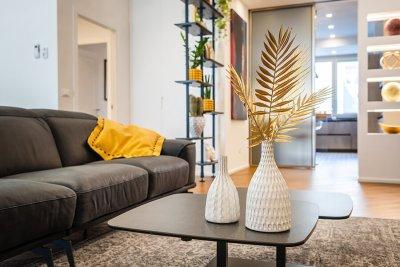 soggiorno - particolare divano tavolino