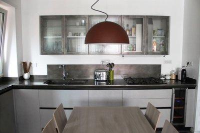 particolare cucina - ristrutturazione appartamento Viale Somalia