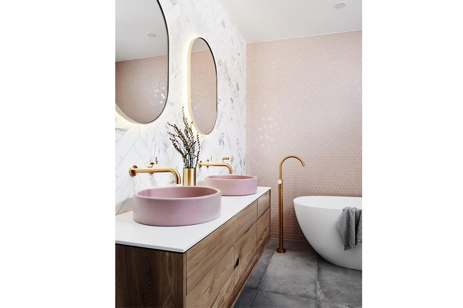 rubinetterie di tendenza - rubinetti oro