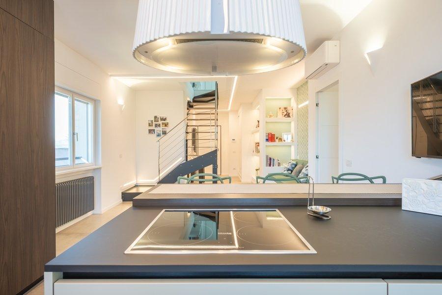 cucina e cappa di design