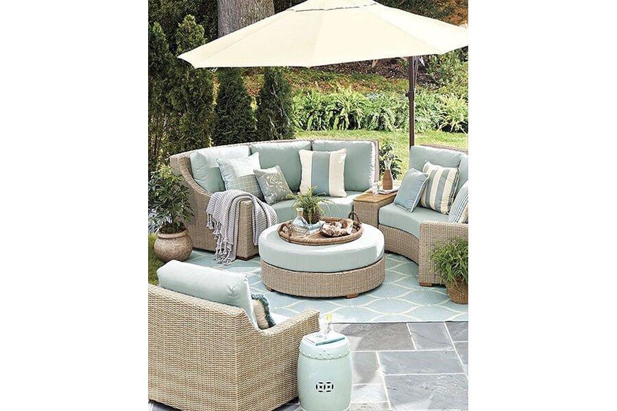 divani da esterno - comfort