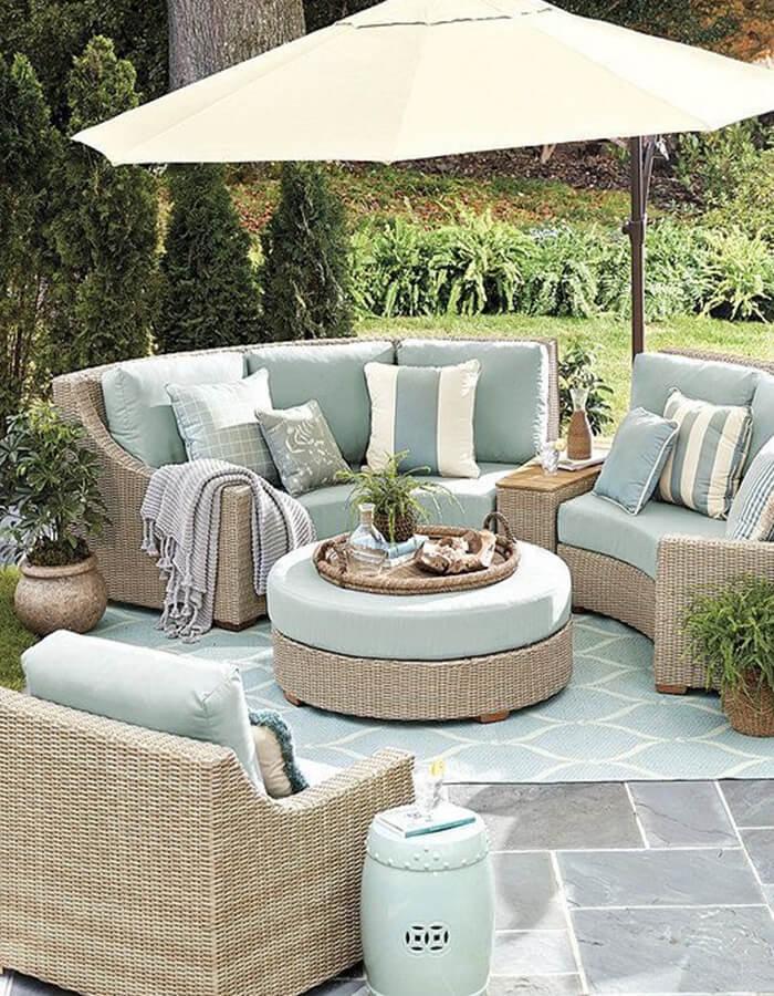 divani confortevoli outdoor